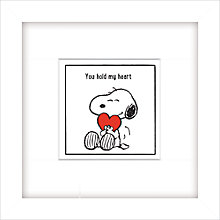 Buy Schulz - You Hold My Heart, 23 x 23cm Online at johnlewis.com
