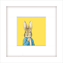 Buy Beatrix Potter - Peter Rabbit, Yellow, 23 x 23cm Online at johnlewis.com