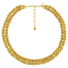 Buy Eclectica Vintage 1970s Trifari Gold Plated Necklace Online at johnlewis.com