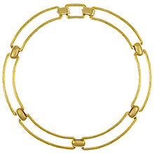Buy Eclectica Vintage 1970s Grosse Gold Plated Necklace Online at johnlewis.com