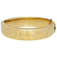 Buy Eclectica Vintage 1950s Excalibur Rolled Gold Bangle Online at johnlewis.com