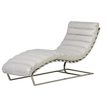 Buy Halo Joel Leather Chair, Rider White Online at johnlewis.com
