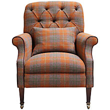 Buy Harris Tweed Country Armchair, Summer Check Online at johnlewis.com