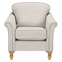 Buy John Lewis The Basics Laurel Armchair, Farland Putty Online at johnlewis.com