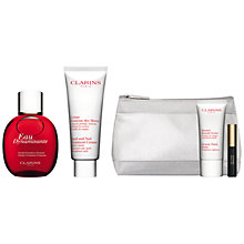 Buy Clarins Eau Dynamisante Spray, 100ml and Hand and Nail Treatment Cream, 100ml with FREE Summer Beauty Duo Online at johnlewis.com