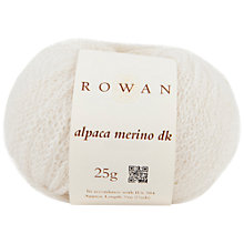 Buy Rowan Alpaca Merino DK Yarn, 25g Online at johnlewis.com
