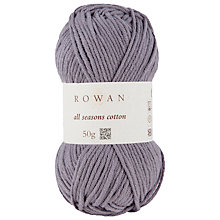 Buy Rowan All Seasons Cotton Blend Yarn, 50g Online at johnlewis.com