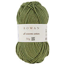 Buy Rowan All Seasons Cotton Blend Aran Yarn, 50g Online at johnlewis.com