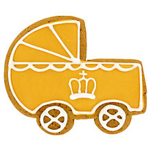 Buy Image on Food Royal Baby Pram Biscuit, 40g Online at johnlewis.com
