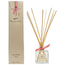 Buy Branche D'Olive Rose Ancienne Diffuser, 200ml Online at johnlewis.com