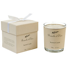 Buy Branche D'Olive Cloud Scented Candle Online at johnlewis.com