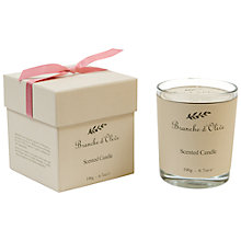 Buy Branche D'Olive Rose Ancienne Scented Candle Online at johnlewis.com