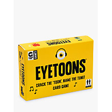 Buy Ginger Fox Eyetoons Card Game Online at johnlewis.com