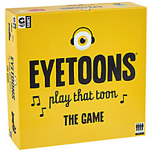 Buy Ginger Fox Eyetoons Board Game Online at johnlewis.com