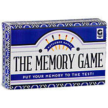 Buy Ginger Fox Memory Matchbox Game Online at johnlewis.com