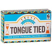 Buy Ginger Fox Tongue Tied Matchbox Game Online at johnlewis.com