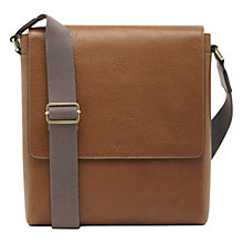 Buy Mulberry Maxwell Slim Messenger Bag, Oak Online at johnlewis.com