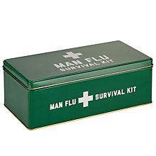 Buy HYMN Man Flu Tin, Green Online at johnlewis.com