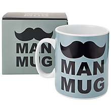 Buy HYMN Man Mug, Blue Online at johnlewis.com