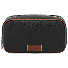 Buy Mulberry Scotchgrain Leather Washbag Online at johnlewis.com
