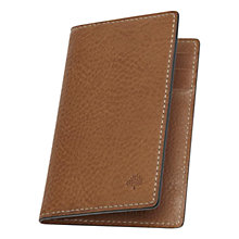 Buy Mulberry Croc Print Leather Card Wallet, Oak Online at johnlewis.com