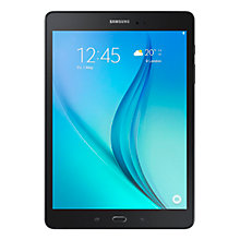 "Buy Samsung Galaxy Tab A Tablet, Snapdragon 400, Android, 9.7"", 16GB, Wi-Fi Online at johnlewis.com"