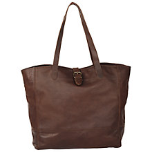 Buy Fat Face Shaped Buckle Tote Bag Online at johnlewis.com