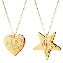 Buy Georg Jensen Heart and Star Christmas Decorations Online at johnlewis.com