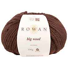 Buy Rowan Big Wool Chunky Yarn, 100g Online at johnlewis.com