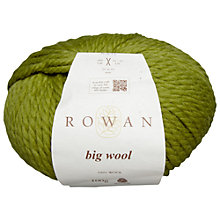 Buy Rowan Big Wool Chunky Merino Yarn, 50g Online at johnlewis.com