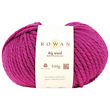 Buy Rowan Big Wool Chunky Merino Yarn Online at johnlewis.com