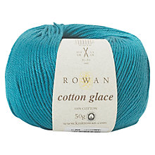 Buy Rowan Cotton Glace Yarn, 50g, Winsor 849 Online at johnlewis.com