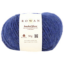 Buy Rowan Brushed Fleece Chunky Yarn, 50g Online at johnlewis.com