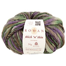Buy Rowan Thick 'n' Thin Super Chunky Yarn, 50g Online at johnlewis.com