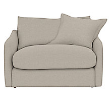 Buy John Lewis Croft Collection Inverness Loose Cover Armchair, Linamore Smoke Online at johnlewis.com