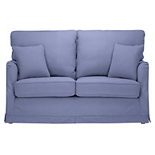 Buy John Lewis Waterside Loose Cover Small Sofa, Linamore Charcoal Online at johnlewis.com