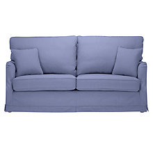 Buy John Lewis Waterside Loose Cover Large Sofa, Linamore Charcoal Online at johnlewis.com