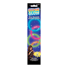 Buy Amscan Super Glow Bracelets, Pack of 4 Online at johnlewis.com