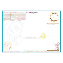 Buy Dodo Pad Dodo Jotter B5 Notepad, Dark Blue / Multi Online at johnlewis.com
