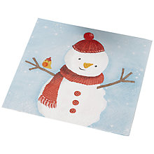Buy Ginger Ray Snowman Paper Napkins, Pack of 20 Online at johnlewis.com