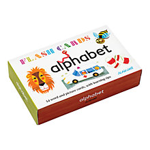 Buy Alain Gree Alphabet Flash Cards Online at johnlewis.com