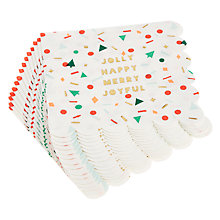 Buy Meri Meri Jolly Confetti Large Paper Napkins, Pack of 16 Online at johnlewis.com