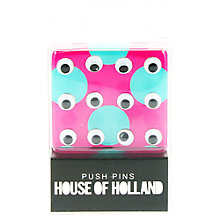 Buy House of Holland Push Pins, Pack of 20 Online at johnlewis.com
