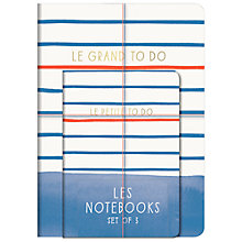 Buy A & C Black Le Journal Paris Notebooks, Pack of 3 Online at johnlewis.com