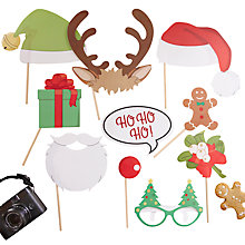 Buy Ginger Ray Christmas Photo Booth Kit Online at johnlewis.com