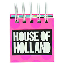 Buy House of Holland Sticky Note Block Online at johnlewis.com