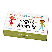 Buy Alain Gree Sight Words Flash Cards Online at johnlewis.com