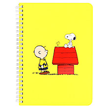 Buy Peanuts A5 Notebook Online at johnlewis.com