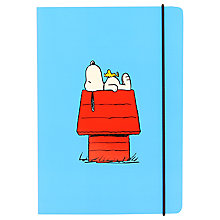 Buy Peanuts B6 Notebook Online at johnlewis.com