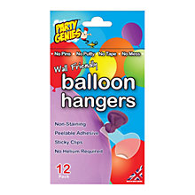 Buy Illoom Adhesive Balloon Hangers, Pack of 12 Online at johnlewis.com